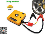Heavy Duty Truck Pocket Portable Car Jump Starter Yellow 16800mAH