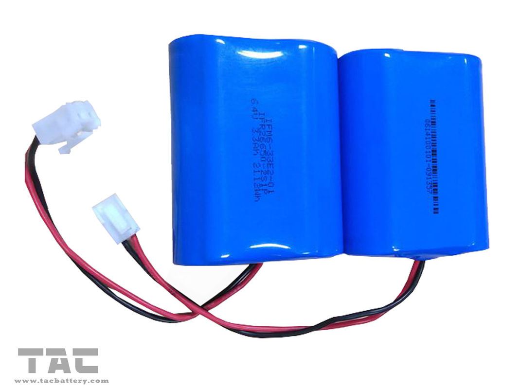 3.2V LiFePO4 Battery  6000mah Battery Pack for Solar Powered Remote Weather Stations