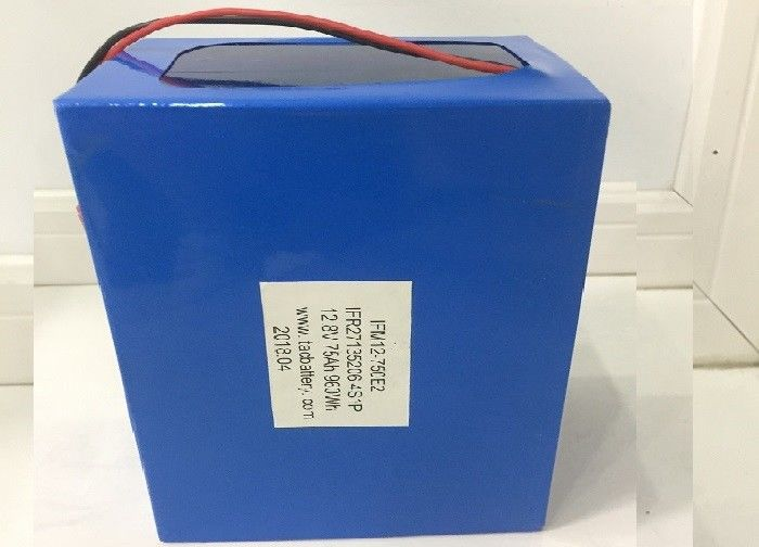 LFB27135180 12V LiFePO4 Battery Pack For EV / Aluminum Shell Prismatic Lithium Ion Battery
