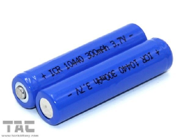 10440 Lithium Ion Cylindrical Batteries 3.7v 320mAh Li-Ion batteries for Cellular phones