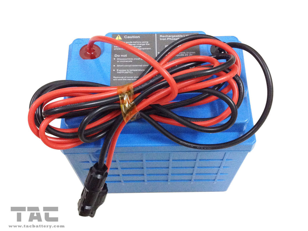 24V 20Ah High Rate LiFePO4 Battery Pack For Pump with Outer Shell