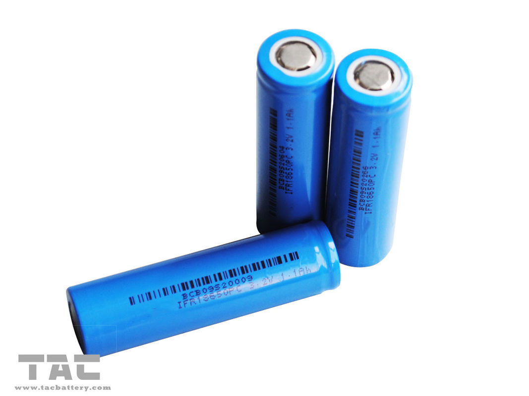 Energy Type 3.2v LiFePO4 Battery IFR18650 1400mAh for Power Tool