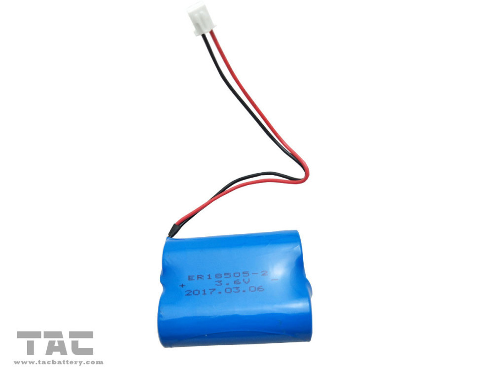 ER18505 3.6V Lithium Battery LiSOCl2 Battery for Motor bike Passed UL ROHS