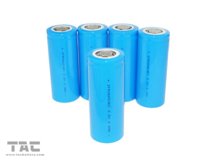نوع الطاقة Li-ion 3.2V LiFePO4 Battery 26650 3200mAh for E-bike battery pack