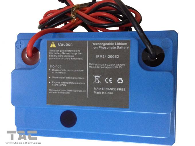 24V 20Ah High Rate LiFePO4 Battery Pack For Pump